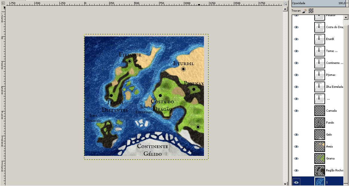 Criando mapas de RPG