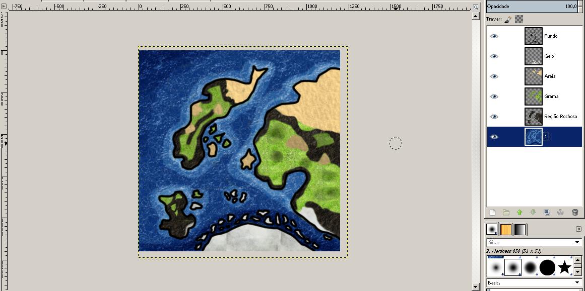 Criando mapas de RPG no Photoshop