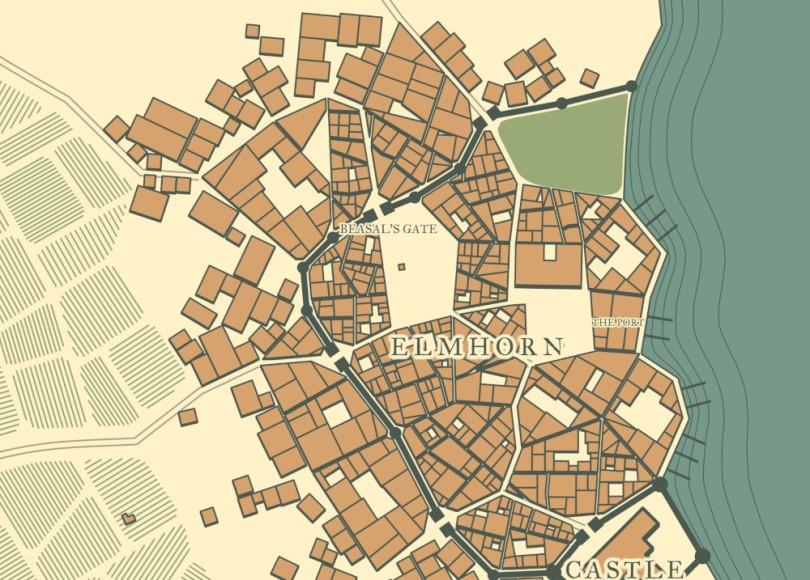 Gerador de Mapas de Cidades RPG
