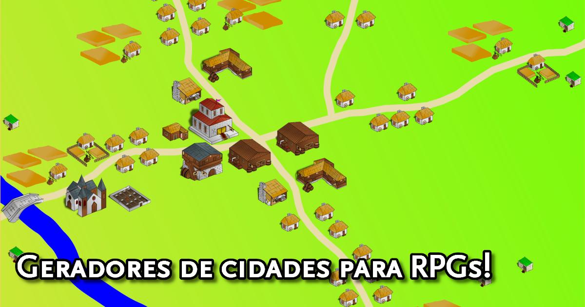 Geradores de Mapas de Cidades para RPGs