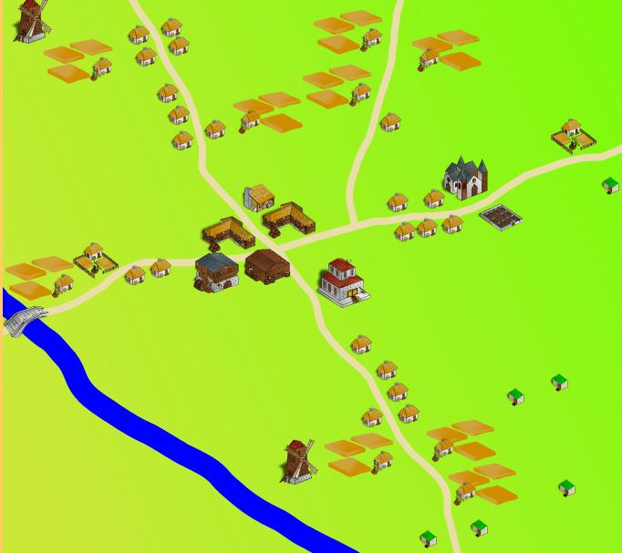 Gerador de mapas de cidades