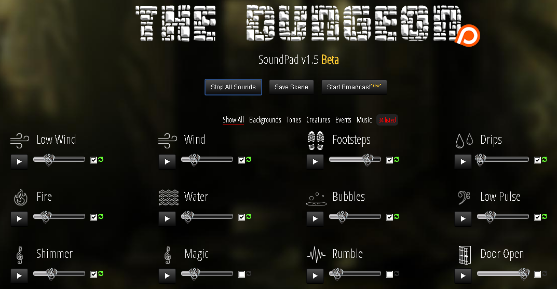 Ferramentas para Músicas no RPG