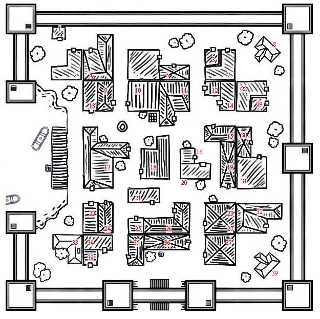 Gerador de Mapas de Fortalezas