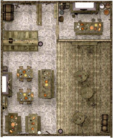 Mapa de Taverna de Graça