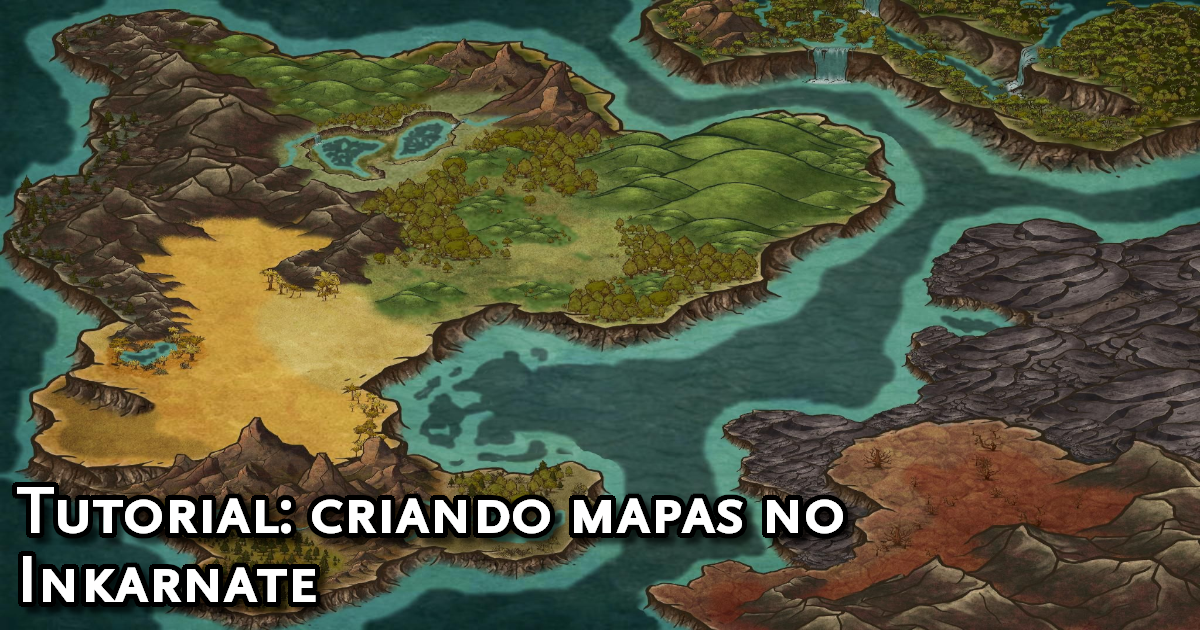 Tutorial de mapas no Inkarnate