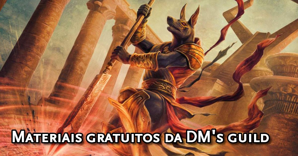 Materiais gratuitos de D&D