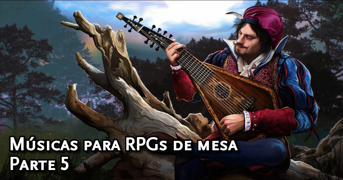 Músicas para RPGs de mesa