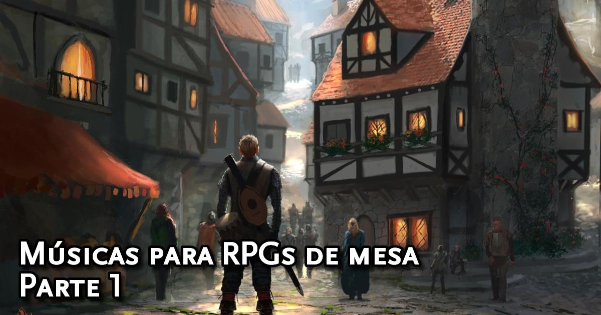 Músicas para sessões de RPG