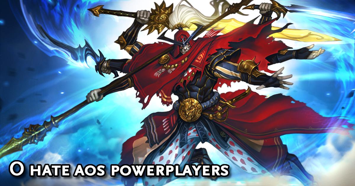 Hate Powerplayers RPG
