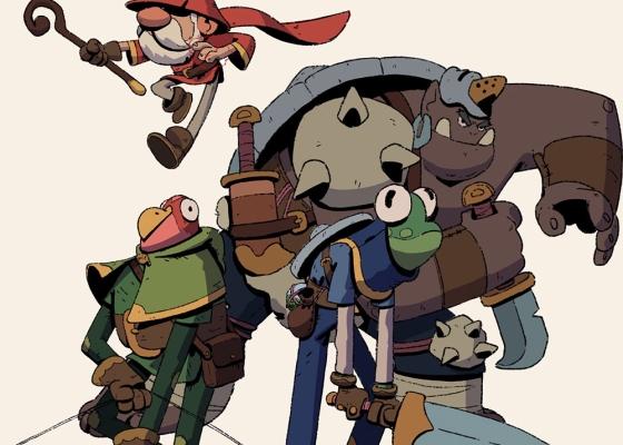 Juntando os personagens na primeira sessão RPG