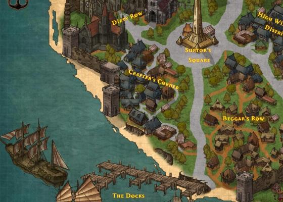 Criando mapas no Inkarnate