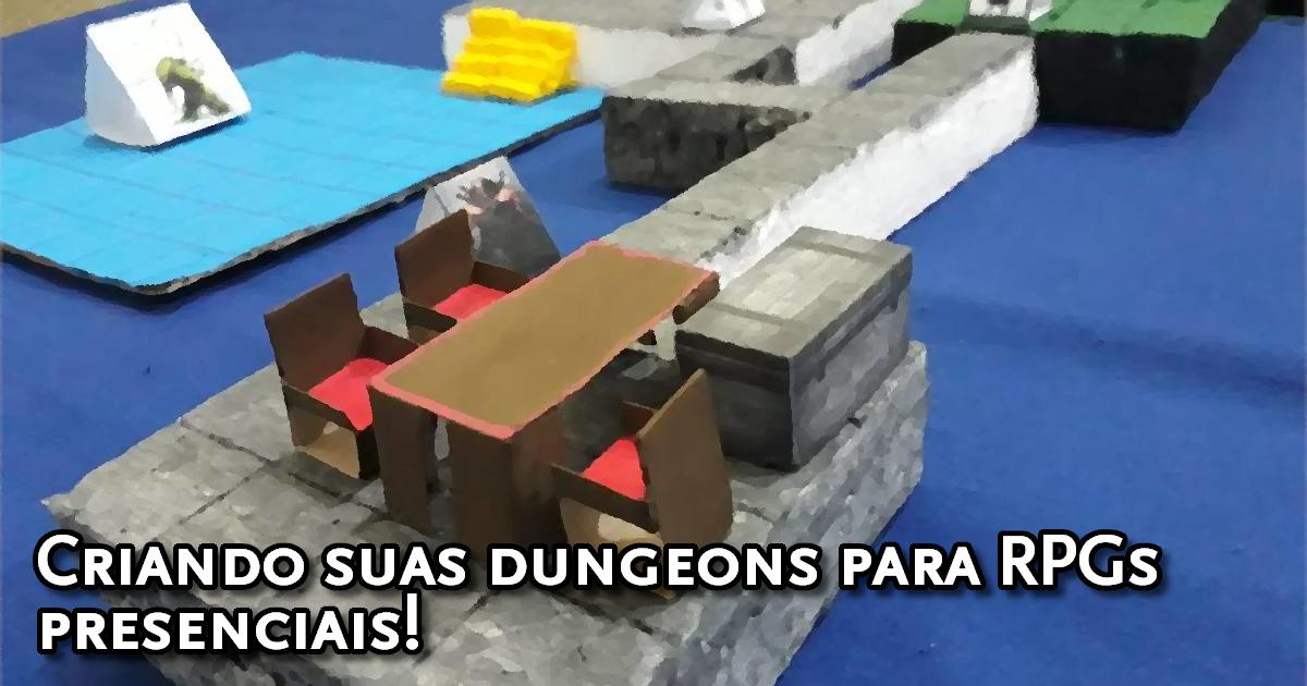 Criando tiles para dungeons presenciais