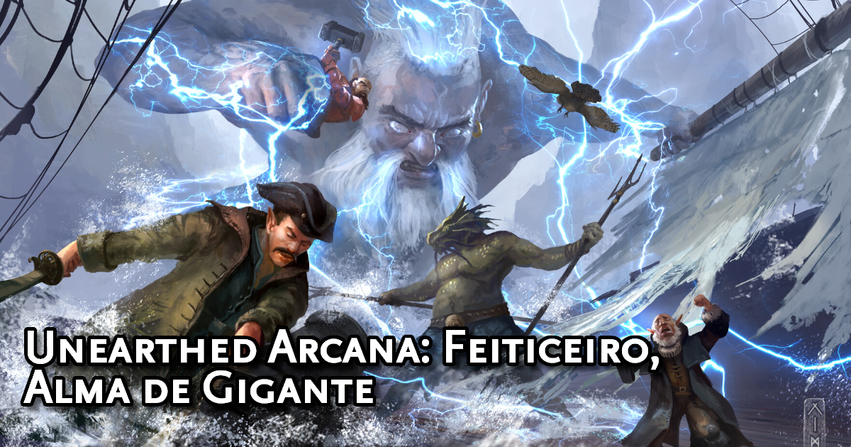 Unearthed Arcana Sorcerer, Giant Soul