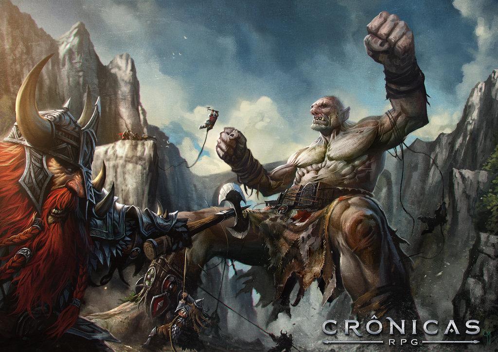 Arte Crônicas RPG