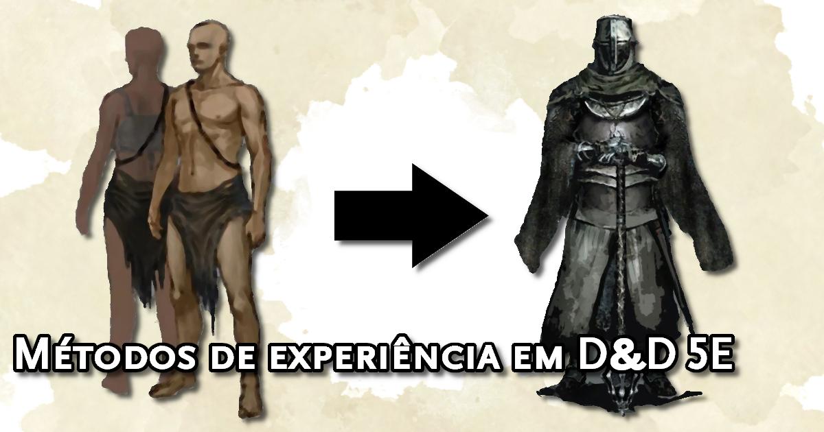 Métodos de Experiência em D&D 5E