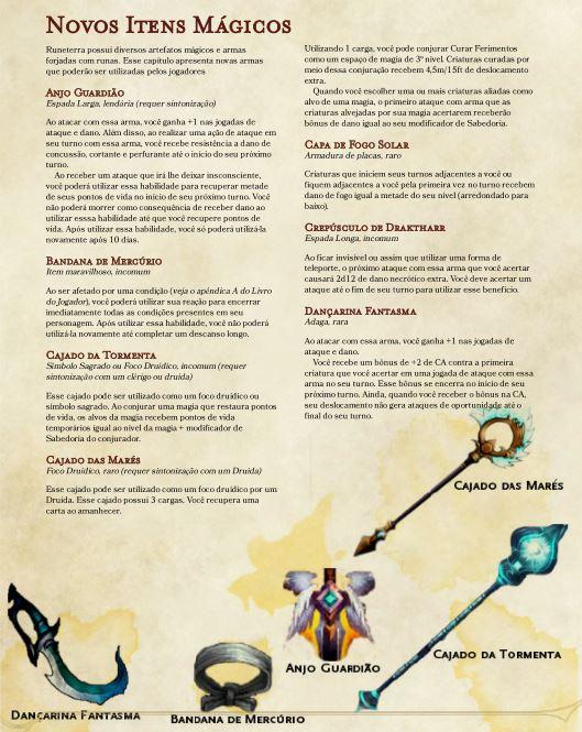 Itens mágicos de League of Legends para D&D 5ª Edição