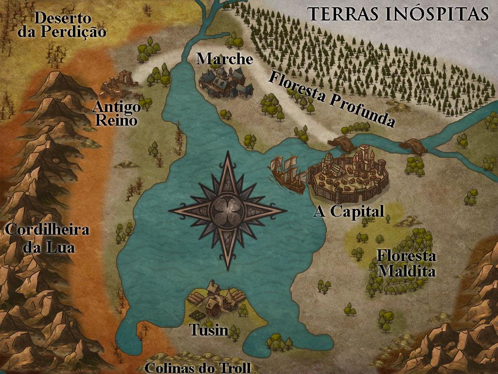 Preparando uma cidade no RPG