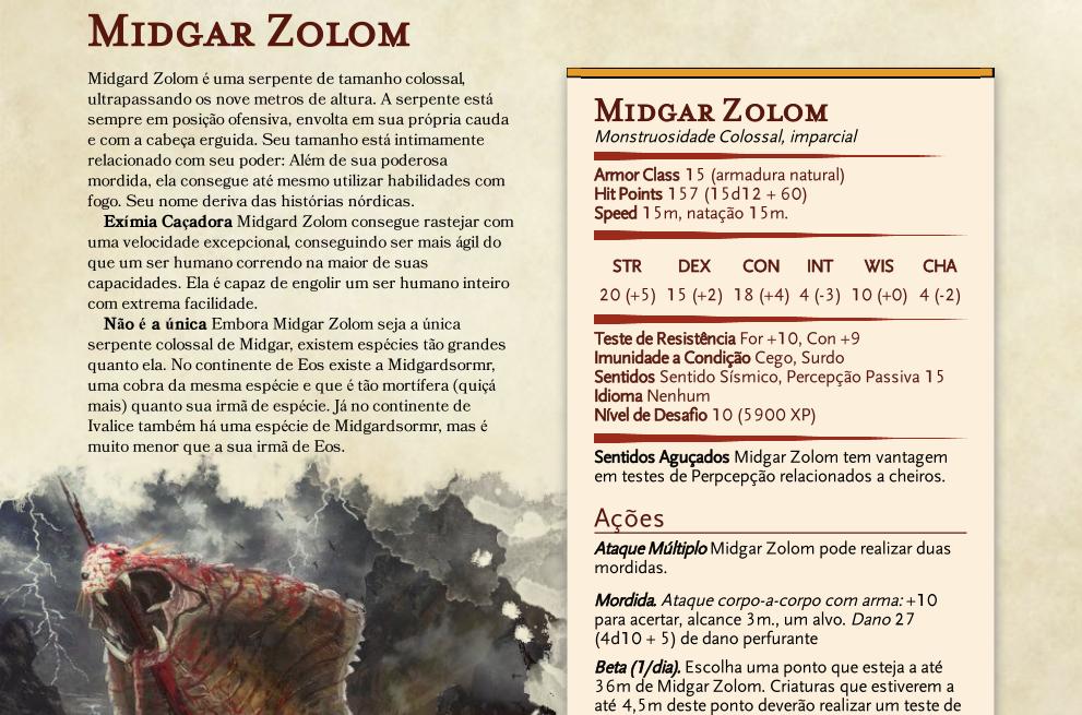 Midgar Zolom D&D