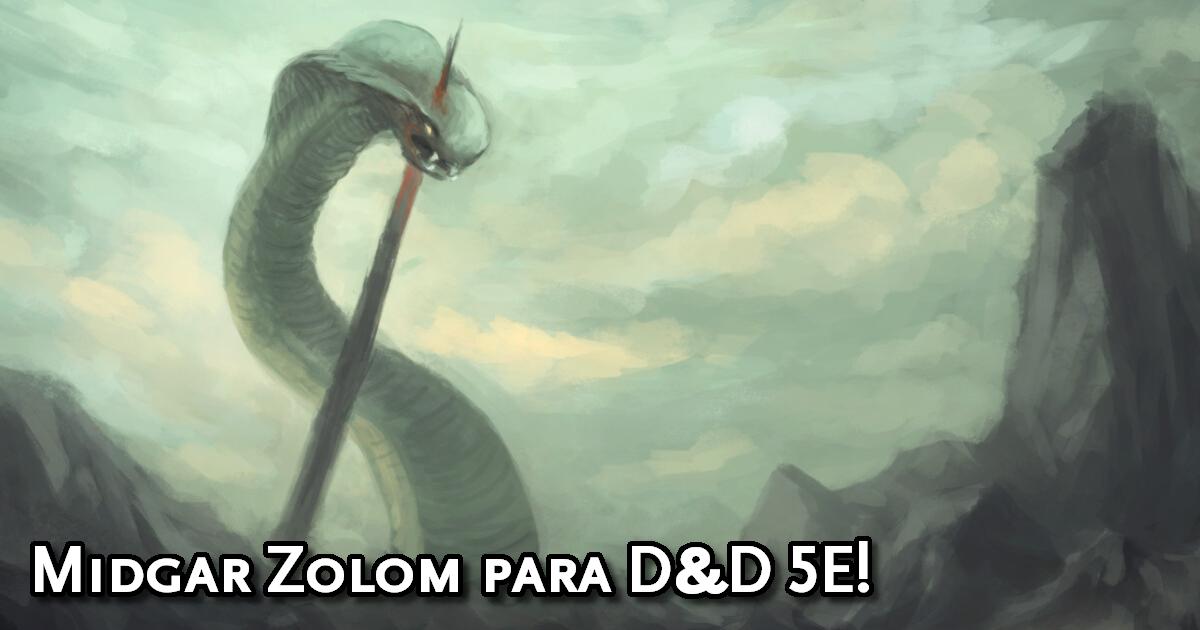Midgar Zolom para D&D 5ª Edição