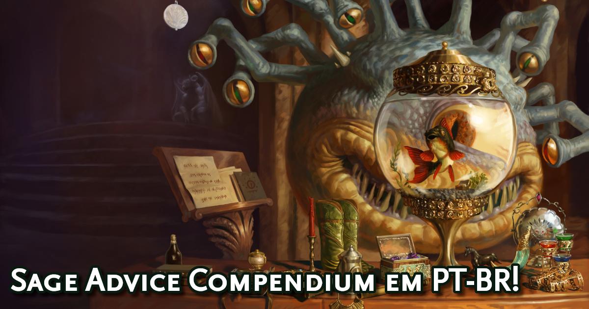 Sage Advice Compendium em português