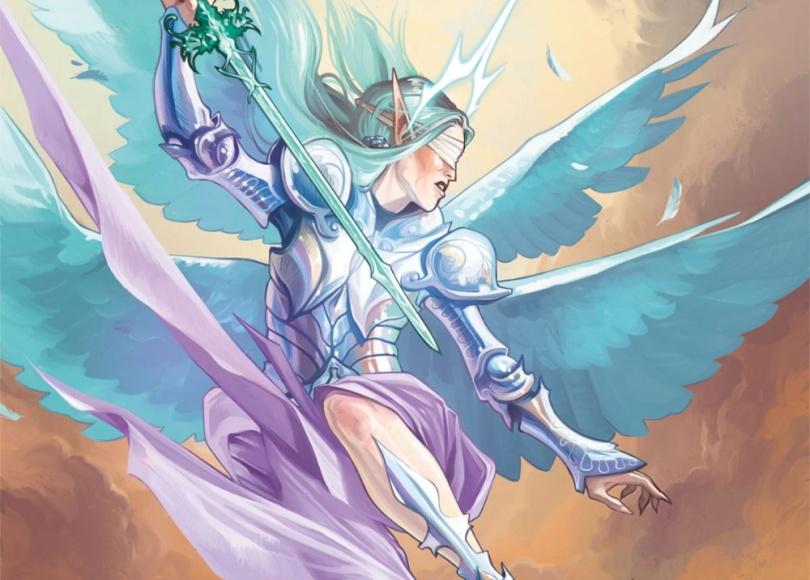 Zariel como anjo