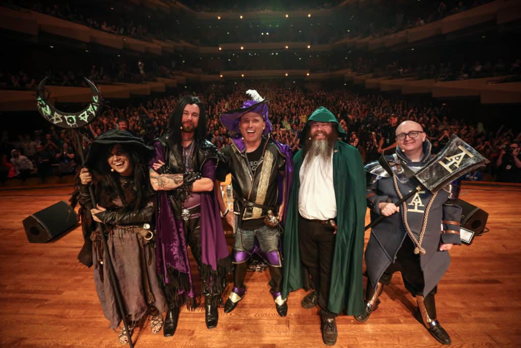 Acquisitions Incorporated no teatro