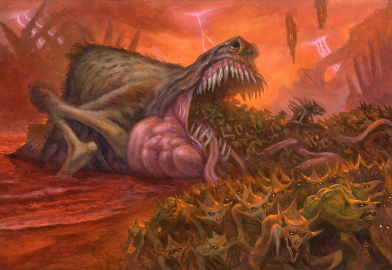 Criaturas da Guerra Sangrenta