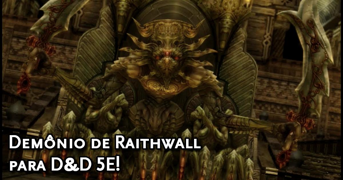 Ficha Demon Wall para D&D 5E