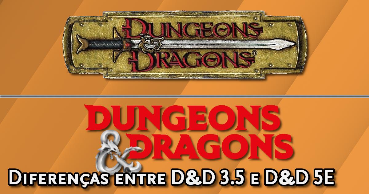 Conversão D&D 3.5 para D&D 5E