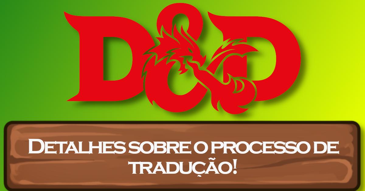 Entendendo a Tradução de D&D 5E