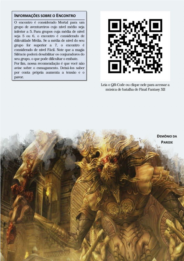 Demônio da Parede para D&D 5ª Edição