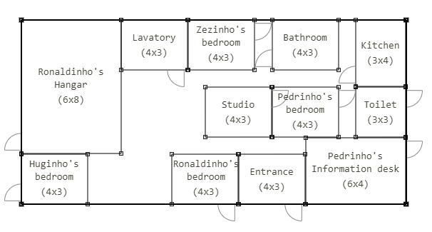 Floorplan Generator Map