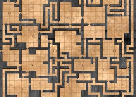 Gerador de Cavernas para RPG de mesa