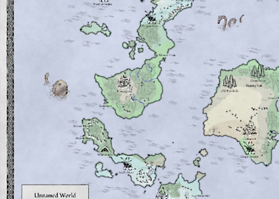 Gerador de Mapa-Mundi para RPG