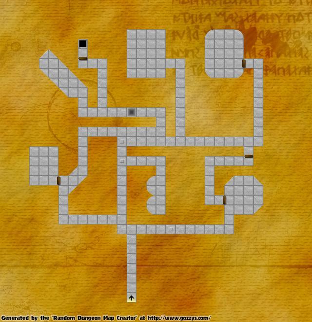 Criador aleatório de Dungeons para RPG