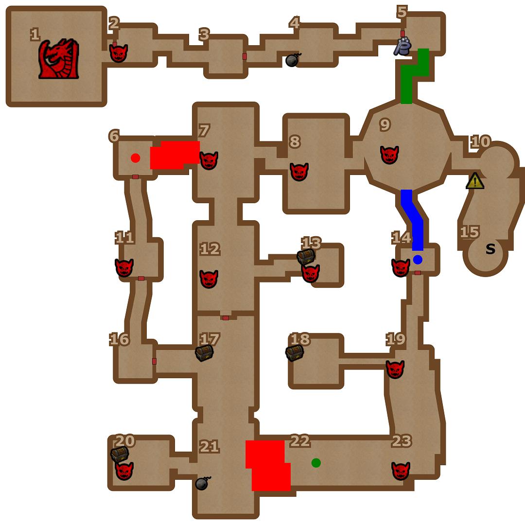 Gerador de Dungeons RPG
