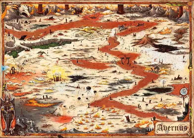 Avernus Map