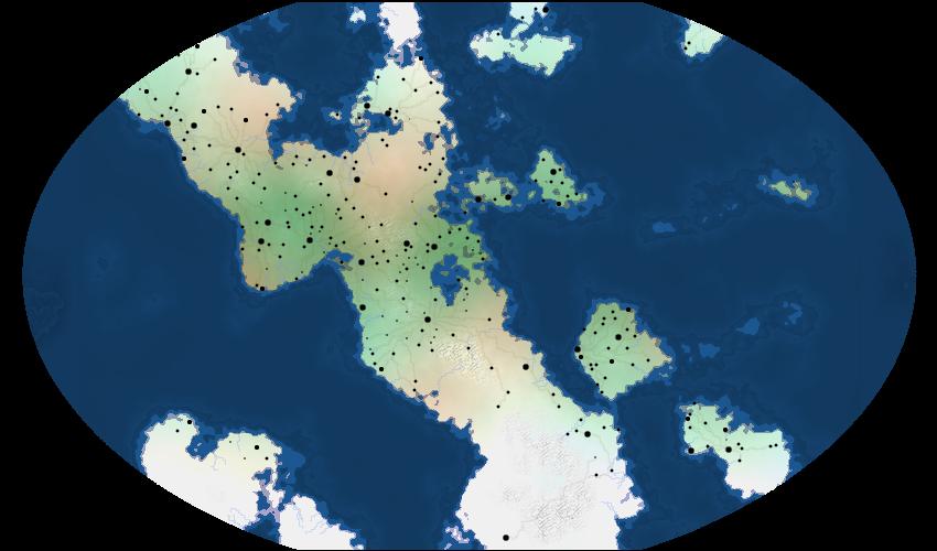 Mapa-Mundi para RPGs