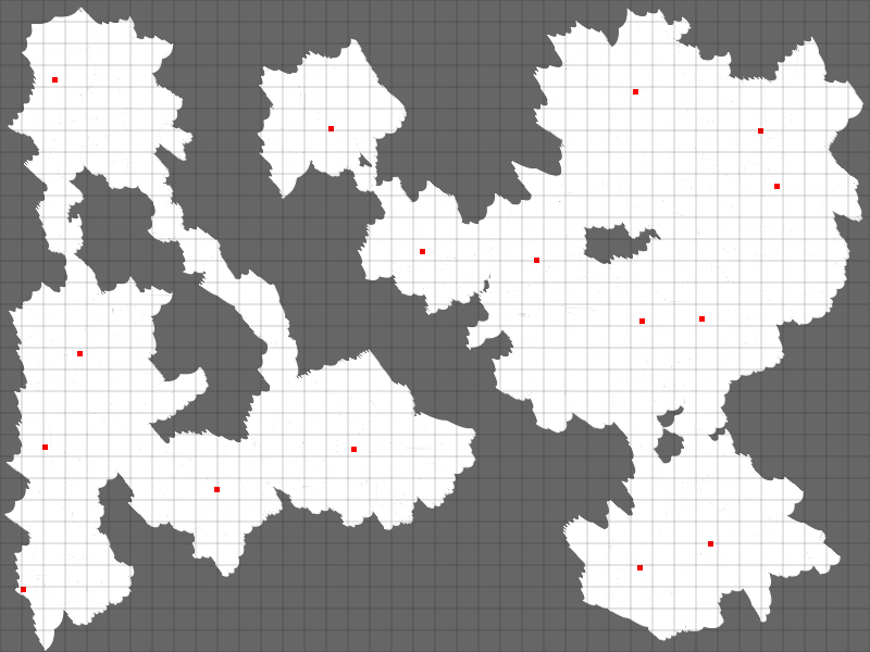 Gerador de Cavernas para RPG