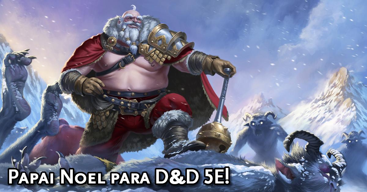 Ficha do Papai Noel para D&D 5ª Edição