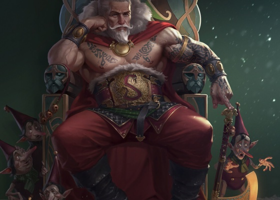 Papai Noel para Dungeons & Dragons