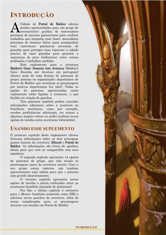 Baldur's Gate: Patronos do Grupo