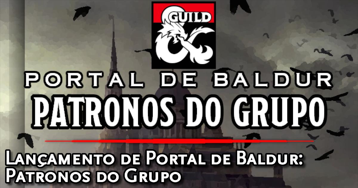 Portal de Baldur - Patronos do Grupo