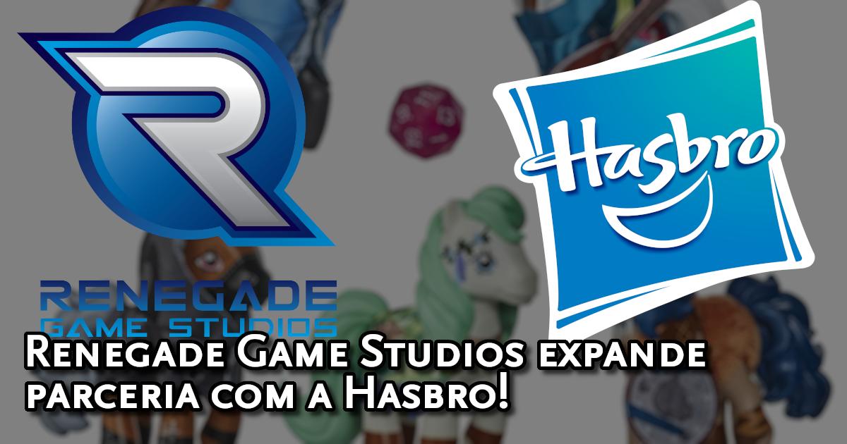 Renegade Game Studios expande parceria com a Hasbro!