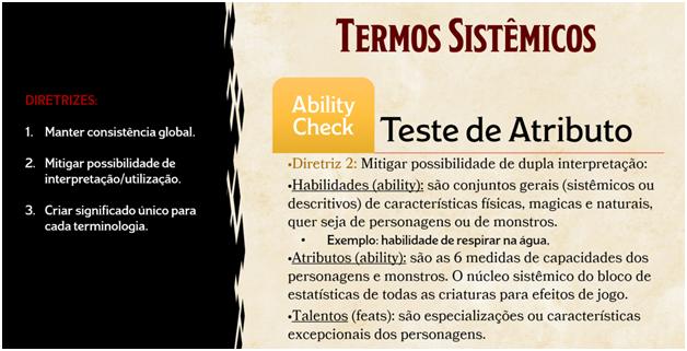Teste de Atributo
