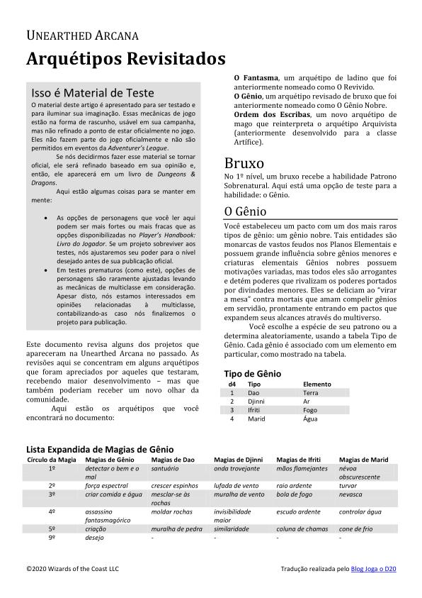 UA Subclasses Revisited Traduzida