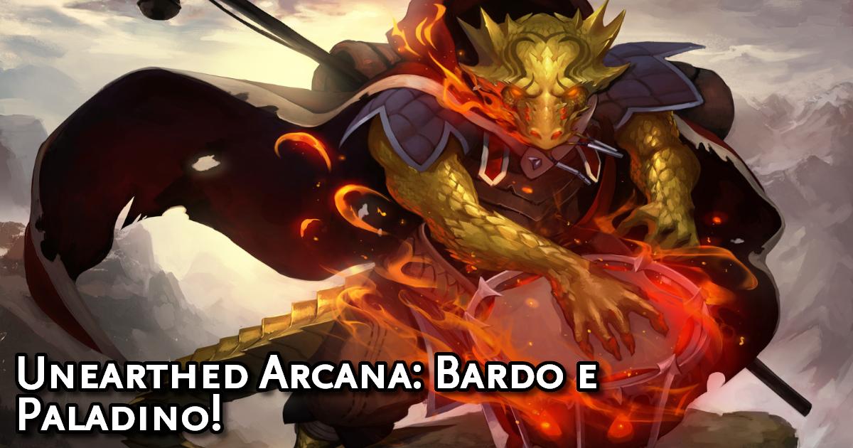 Unearthed Arcana Bard and Paladin Traduzida