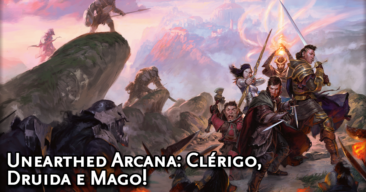 Unearthed Arcana Cleric, Druid and Mage Traduzida