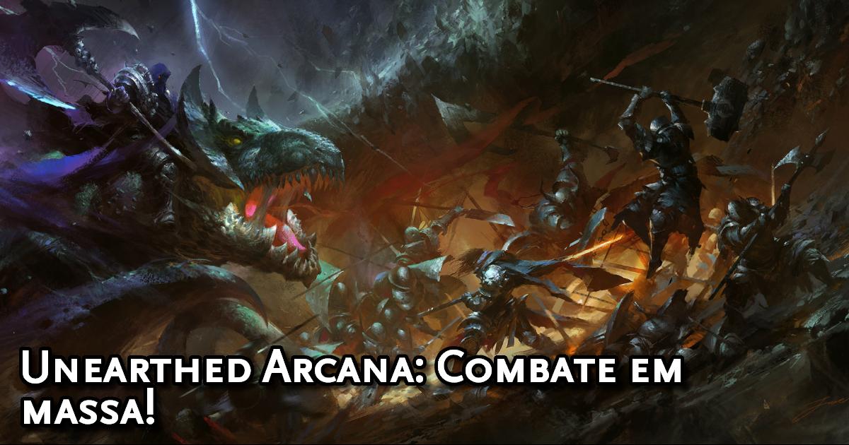 Unearthed Arcana Mass Combat Traduzida
