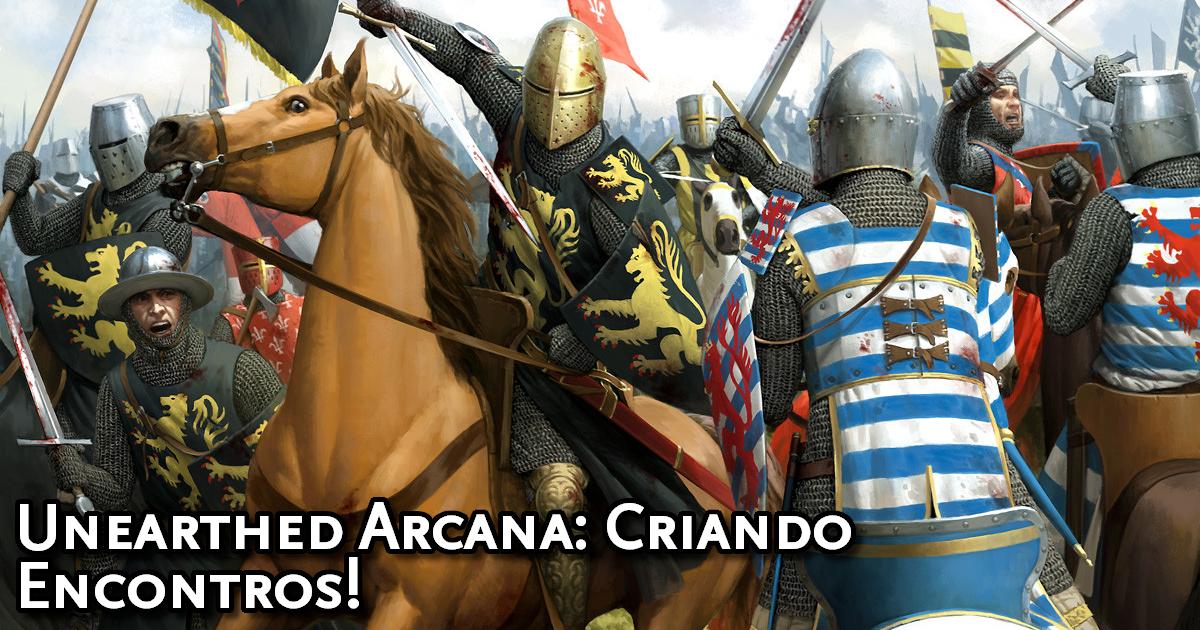 Unearthed Arcana Encounter Bulding Traduzida